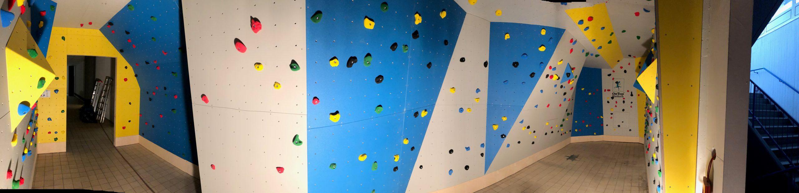 Indoor Boulderwand